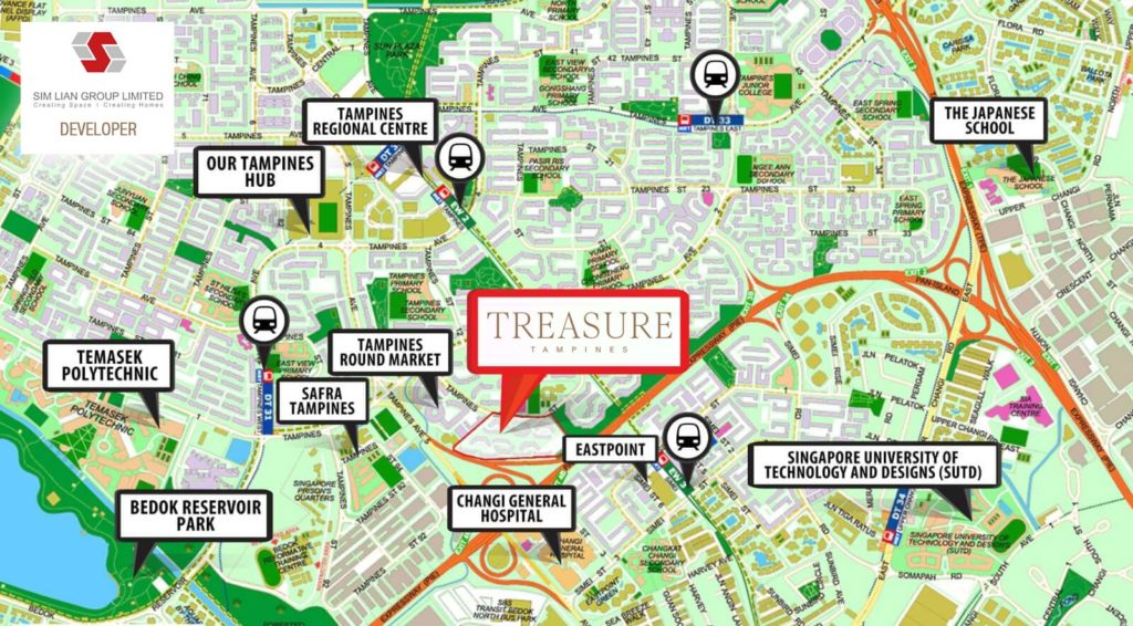 treasure-at-tampines-showflat-location-map